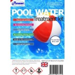Chlorine Free Swimming Pool Chemical treatment Starter Kit with no measuring